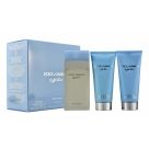 Light Blue - 100 ml eau de toilette + 100 ml showergel + 100 ml bodycream