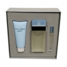 Light blue 100ml eau de toilette + 100ml bodylotion + 7.4ml roller bal EDT