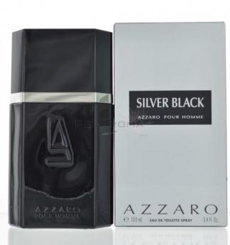 Azzaro Silver Black Eau De Toilette 100 ml