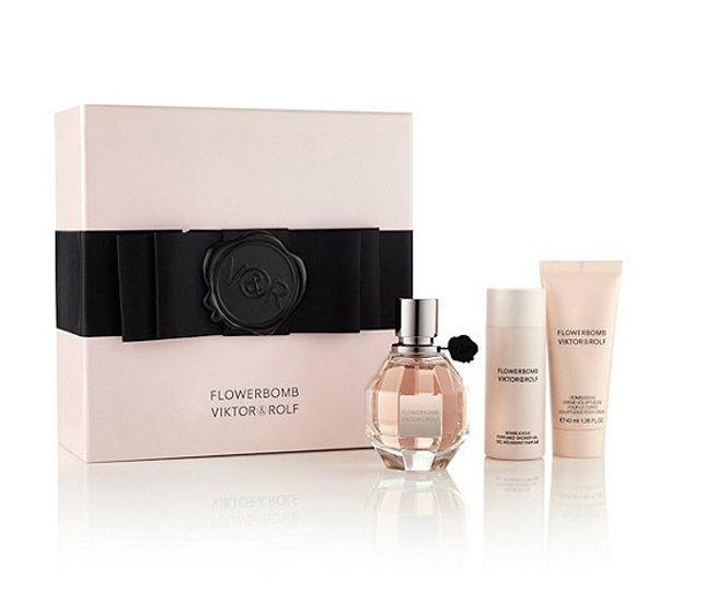 Viktor & Rolf Flowerbomb 50ml Eau De Parfum + 50ml Douchegel + 40ml Bodylotion Eau De Parfum Giftset