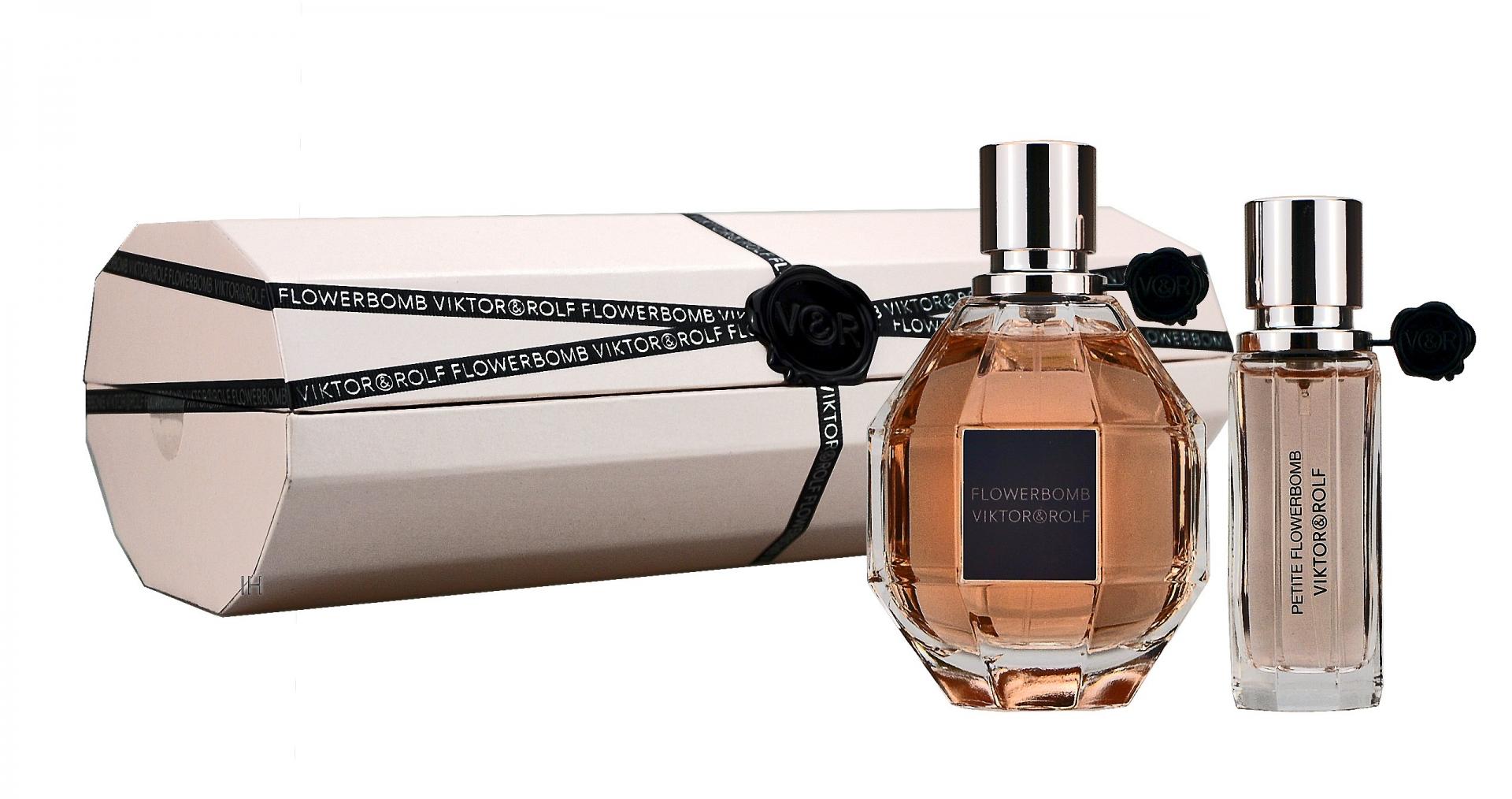 Viktor & Rolf Flowerbomb 100ml Eau De Parfum + 20ml Eau De Parfum Eau De Parfum Giftset