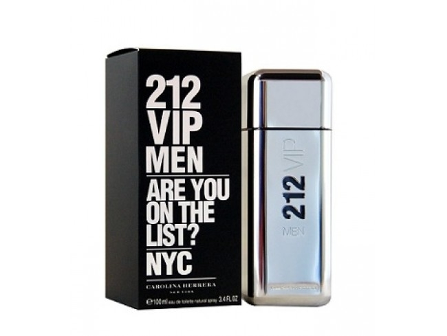 Carolina Herrera 212 VIP Men Eau de Toilette Spray 100 ml