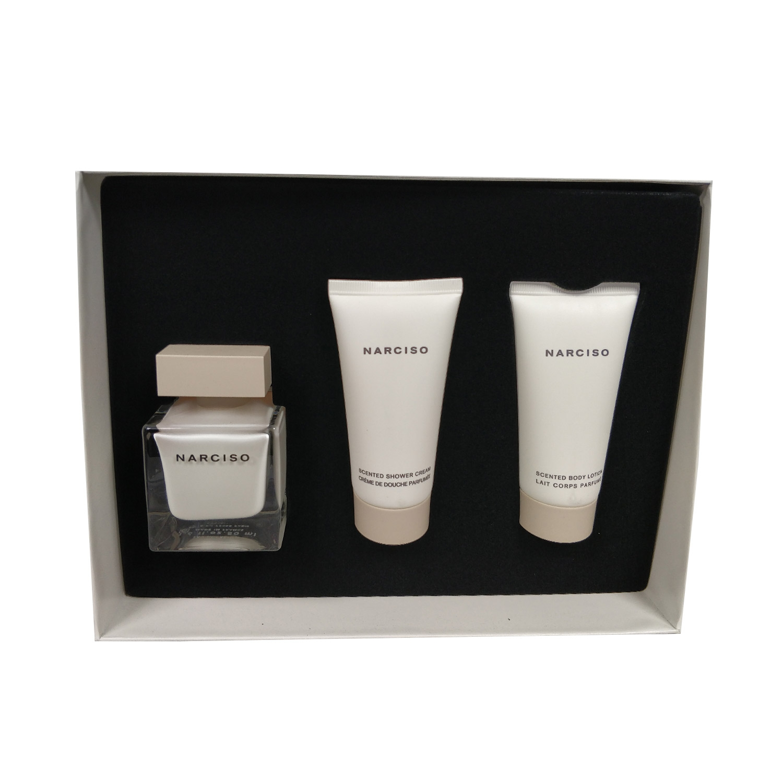 Narciso Rodriguez Narciso 50ml Eau De Parfum + 50ml Bodyltion + 50ml Showergel Eau De Parfum