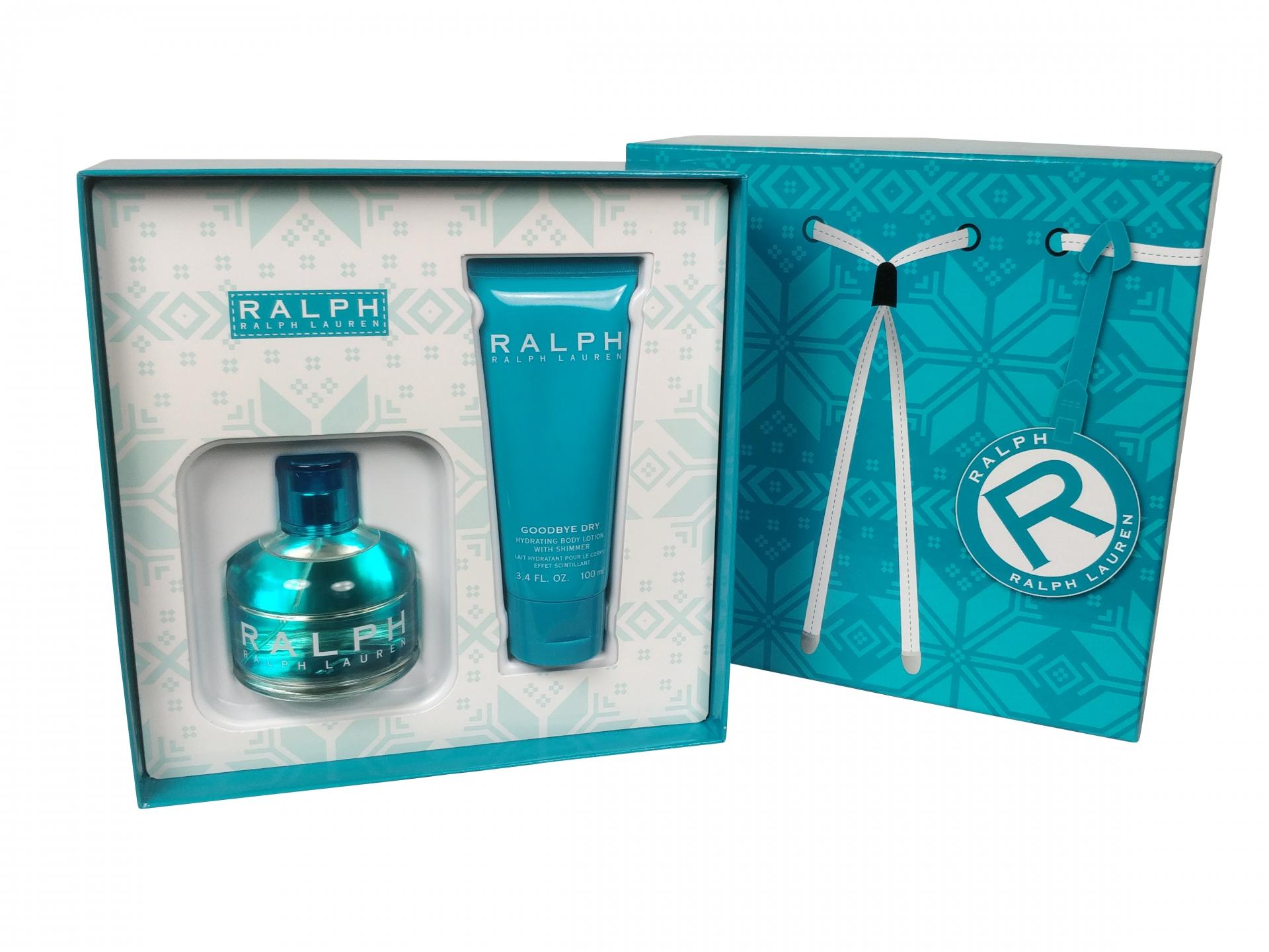 Image of Ralph Lauren - Ralph 100ml Eau De Toilette + 100ml Bodylotion Eau De Toilette - Giftset